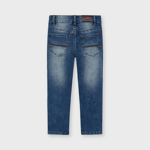 Jeans straight fit rotti