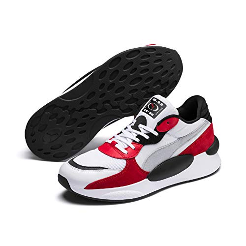 Sneakers Rs 9.8 Space' Bianco\Nero\Rosso