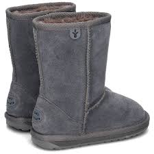 Stivale Wallaby Lo Anthracite