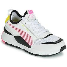 Sneakers Donna RS-0 REIN white, pink-fluo yellow