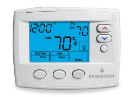 5+2 Day Programmable Blue Screen Thermostat  - 1F80-0261
