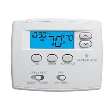 5+1+1 Day Programmable Blue Screen Thermostat  - 1F82-0261