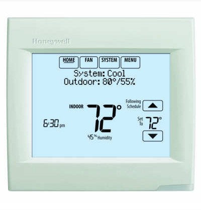 TH8321R1001 - 3H-2C Res/Comm 7-Day Programmable Thermostat Touchscreeen Wireless