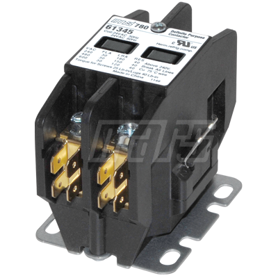 61441 - Contactor: 2 Pole 40 Amp 120V Coil