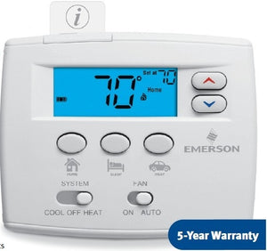 1F89EZ-0251 - White Rodgers Easy Set Non-Programmable Heat Pump Thermostat