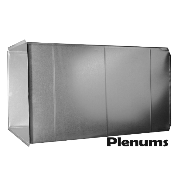 4 Ft R8 Supply Plenum  - P2024.548-R8-1-0