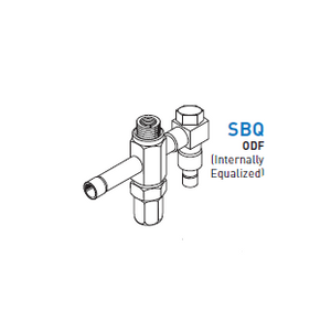 Thermostatic Expansion Valve Body Only  - SBQ BODY