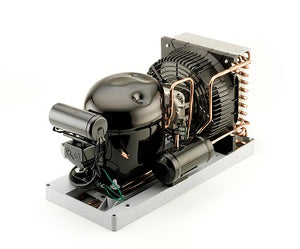 1/2 HP 115-1 Low Temp R404a Celseon condensing unit with power cord service valves  - AJA2423ZAADP