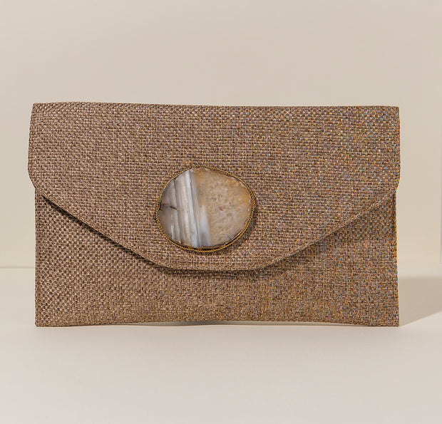 Cartera Agatha  - Natural - By HANDEL