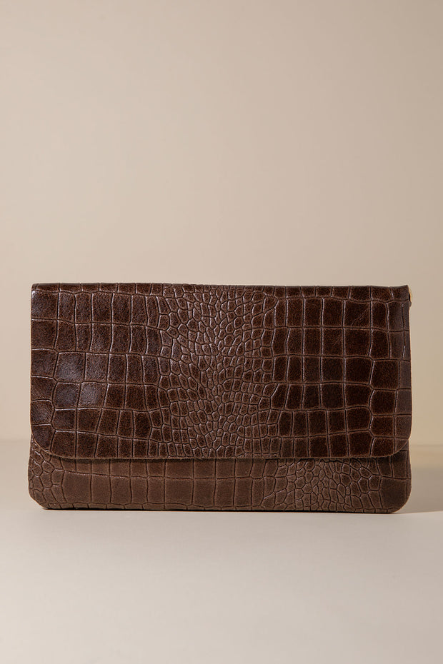 Cartera Piel - Coco Chocolate - By HANDEL