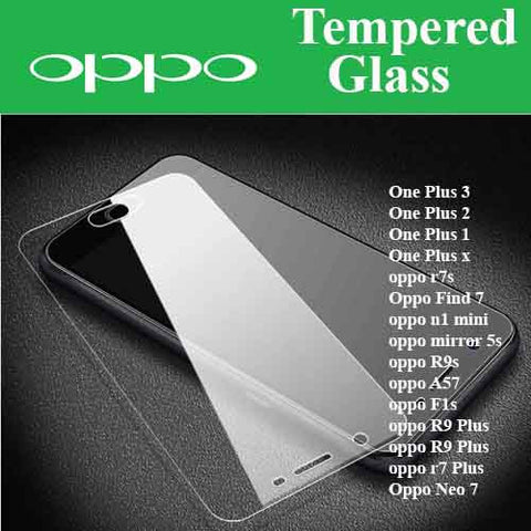 Oppo Tempered Glass