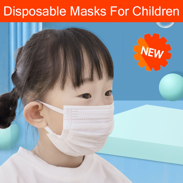 NEW!Children's disposable mask for children's special male and female children three layers of protection and ventilation