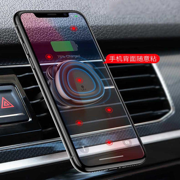 ReadyStock Singapore Baseus Magnetic Car Phone Holder Stand 360 Rotation Air Vent Mount For Phone