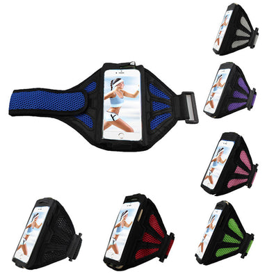 Sport Running Riding Arm Bag Band Case Universal For Cell Phone Holder Zipper