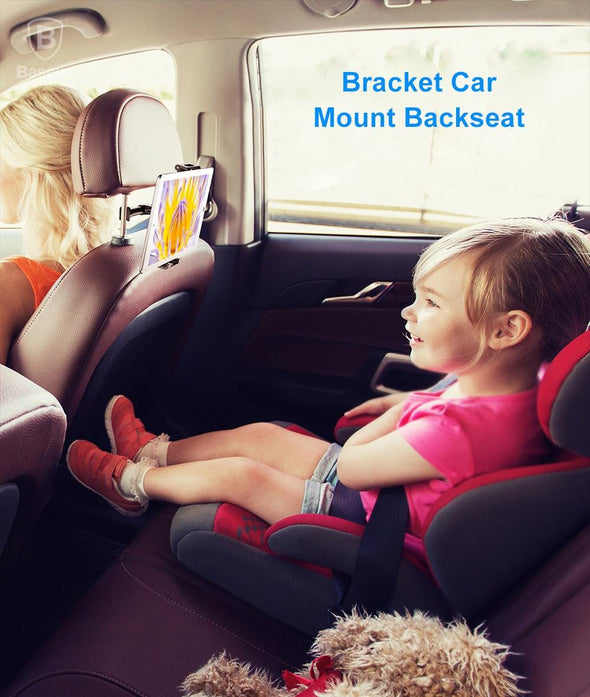 ReadyStock Singapore Baseus Car Phone Holder For IPad Pro Tablet PC Adjustable Car Mount Holder