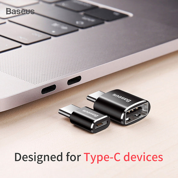Baseus Type C 3.0 OTG Adapter Type-C Male to USB Female Converter for Samsung MacBook Xiaomi Nexus etc USB Cable
