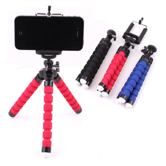 iPhone Holder Flexible Octopus Tripod Bracket For tablet Camera