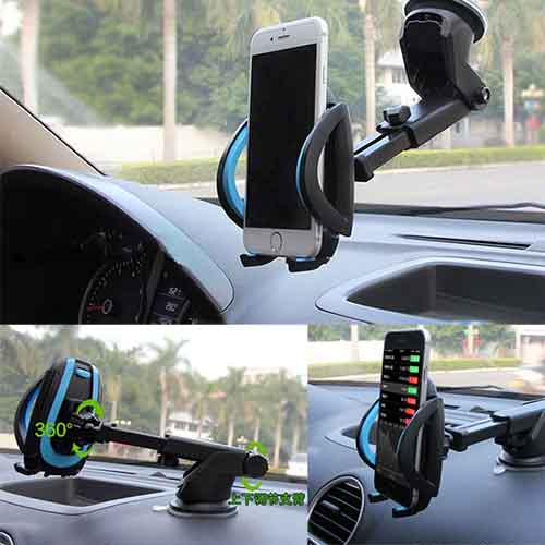 For Huawei P10 P9 P8 Lite P10 Plus G9 mate 9 8 Honor Universal 2 In 1 Retractable Windshield Dashboard Car Phone Stand Holder