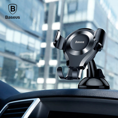 Ready Stock in Singapore Baseus Osculum Type Gravity Car Mount Adjustable Dashboard Holder