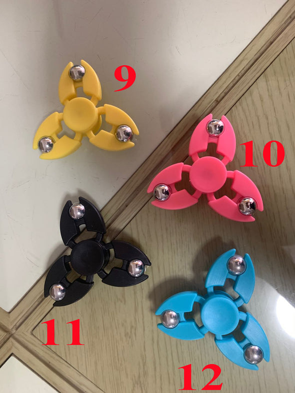 Hand Spinner Toy High Speed Stainless Steel Relief Toys Tri-Spinner