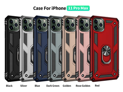 Armor Case For Apple iPhone  Anti-Fall Shockproof Back Cover Casing