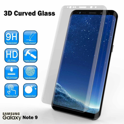For Samsung Galaxy Note 9 【HD Clear】Tempered Glass Screen Protector Clear