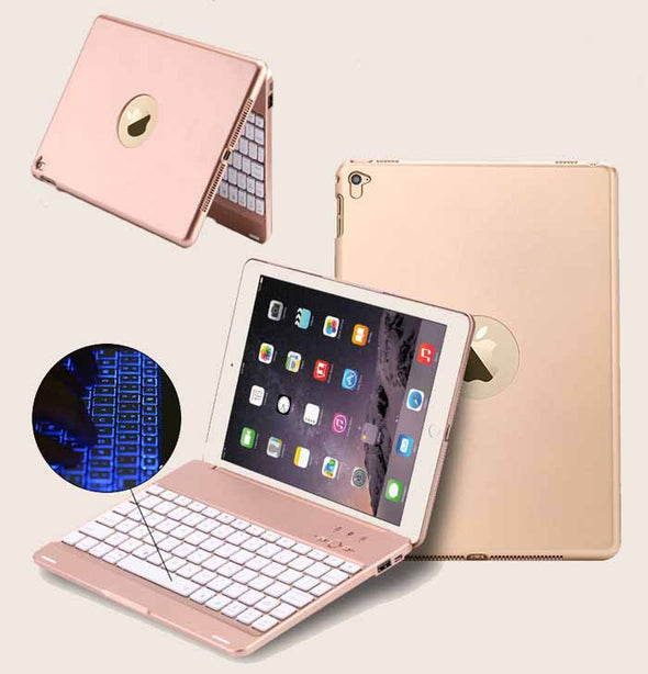 Wireless Bluetooth Keyboard Folio Smart Case Cover