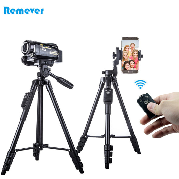 Newest 5218 Professional Tripod Stand Camcorder Tripod with Ball Head Gimbal Camera Stand Holder for DSLR Nikon/Canon/Smartphone