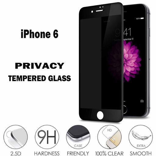 0.23mm Privacy  Full Screen Tempered Glass for iPhone 6/6s