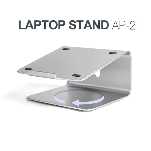 Aluminium Desktop Base Stand Flat Radiator 360°Rotatable Bracket Alloy Metal Smartphone Bracket Tablet Desk Stand Holder For iPad pro iPad5 ipad6 Samsung Galaxy 7-17 inch Tablet PC Laptops Holde