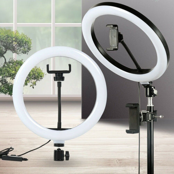 26cm Camera Phone Photography LED Ring Light USB Fill Lamp for Selfie Makeup Hot