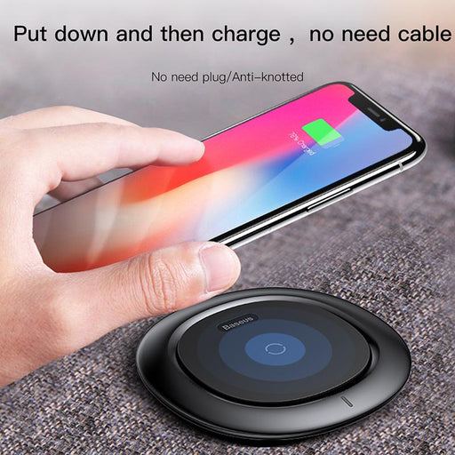 Baseus Ufo Wireless Charger For Iphone X 8 Samsung Note8 S9 S8 Mobile Phone 10w Qi Wireless Charging Charger Fast Charging Pad