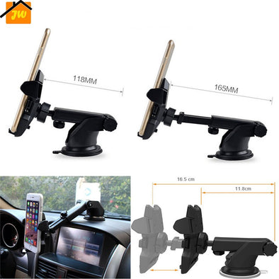 Universal Flexible Long Car-styling Phone Car Holder Stand Support Telephone Voiture For iPhone Xiaomi Redmi Phone Holder