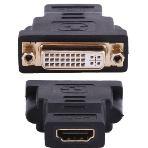 DVI I 24+5 Female to HDMI Female Converter Adapter Monitor/Computer Gold Plated