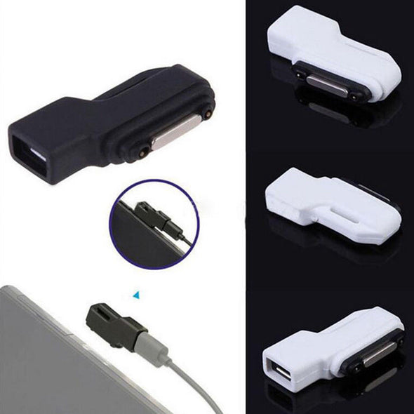 MICRO USB TO MAGNETIC CABLE ADAPTER CHARGER FOR SONY XPERIA Z1 Z2 Z3 COMPACT