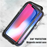 iPhone X XS Max XR 8 7 6 6s Plus Case Magnetic Adsorption Metal Frame Cover
