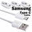 Samsung USB Type C Cable Fast Charge Cord for Galaxy S8 Plus LG G5 G6