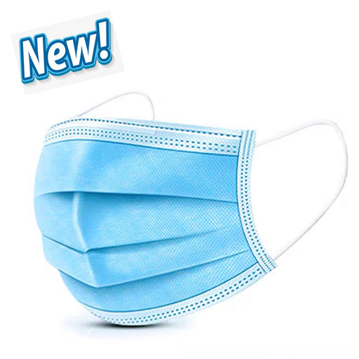NEW! Children's disposable respirator dustproof breathable non-woven three-layer protection surgical mask