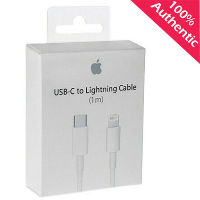 Authentic Apple Lightning to USB-C Cable 1 m