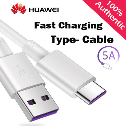 Original Superfastcharge Huawei USB 5A Type C Cable