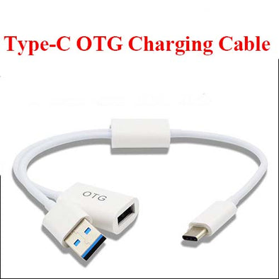 2-In-1 Type-C Male to USB 3.1 Male Female OTG Data Charging Cable