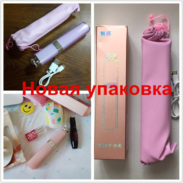 Lipstick Nude Design Bluetooth Wireless Selfie Stick for iPhone 7/7 plus iPhone 6 6s iOS for Samsung Android Smartphone