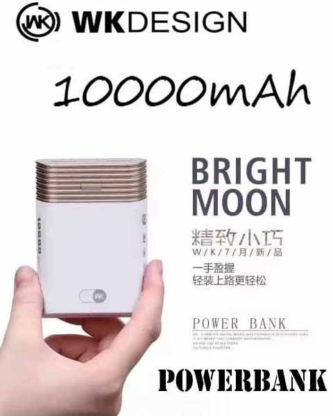 WK Design powerbank WP-013 BRIGHT MOON 10000mAh