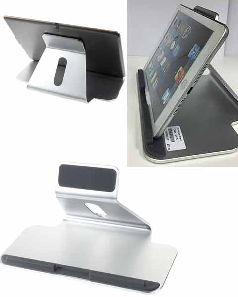Aluminum Alloy Tablet Stand Holder for iPad Air 2/iPad Mini/Galaxy Tab etc