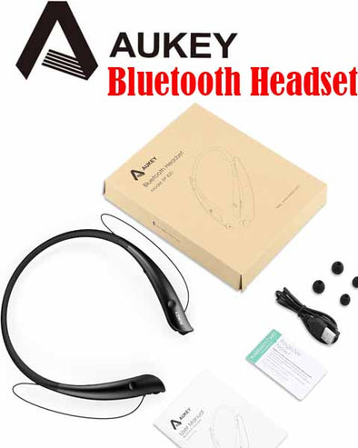EP-B20] AUKEY Bluetooth V4.1 Neckband Sport Headphones, Comfy headphones for Sport!