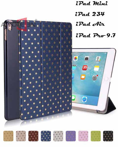 Star Stamping Ultra Slim Pu Leather Flip Smart Cover