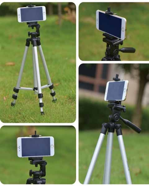 Light Weight 3120 Silver Black Edition Monopod Tripod GoPro Hero5 Digital Camera iPhone Xiaomi