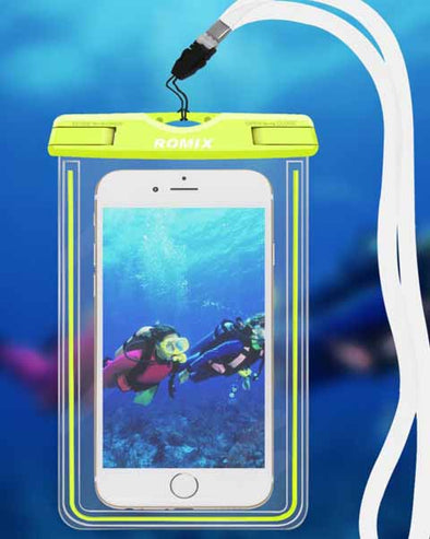 Romix Waterproof Phone Case Cover RH11 Waterproof Pouch For 4inch to 6.0inch