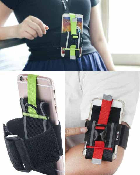 ROMIX RH22 Cool Universal Armband Ajustable for iPhone 6 to iPhone XMS