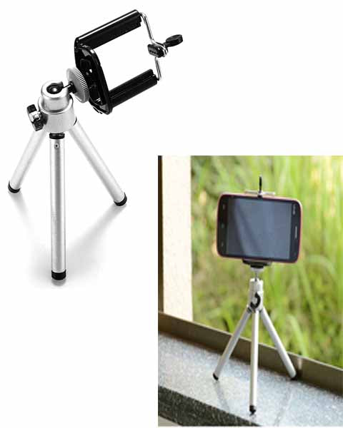 Mini Extendable Tripod with Holder